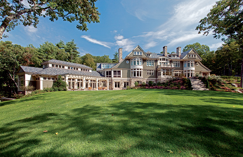 A Classic Country Club New England Agrarian Home Period