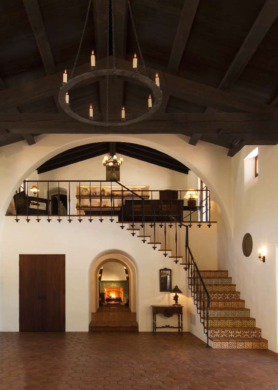 2016 palladio awards authentic spanish colonial revival for Ranch house con cantina